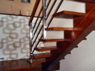 Oak colored stairs 2